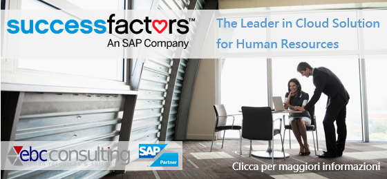 SuccessFactors partner EBCConsulting Leader in cloud solution human resources