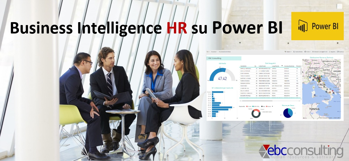 Business Intelligence HR su Power BI Microsoft EBC Consulting