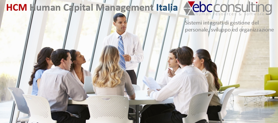 HCM HUMAN CAPITAL MANAGEMENT ITALIA EBC CONSULTING
